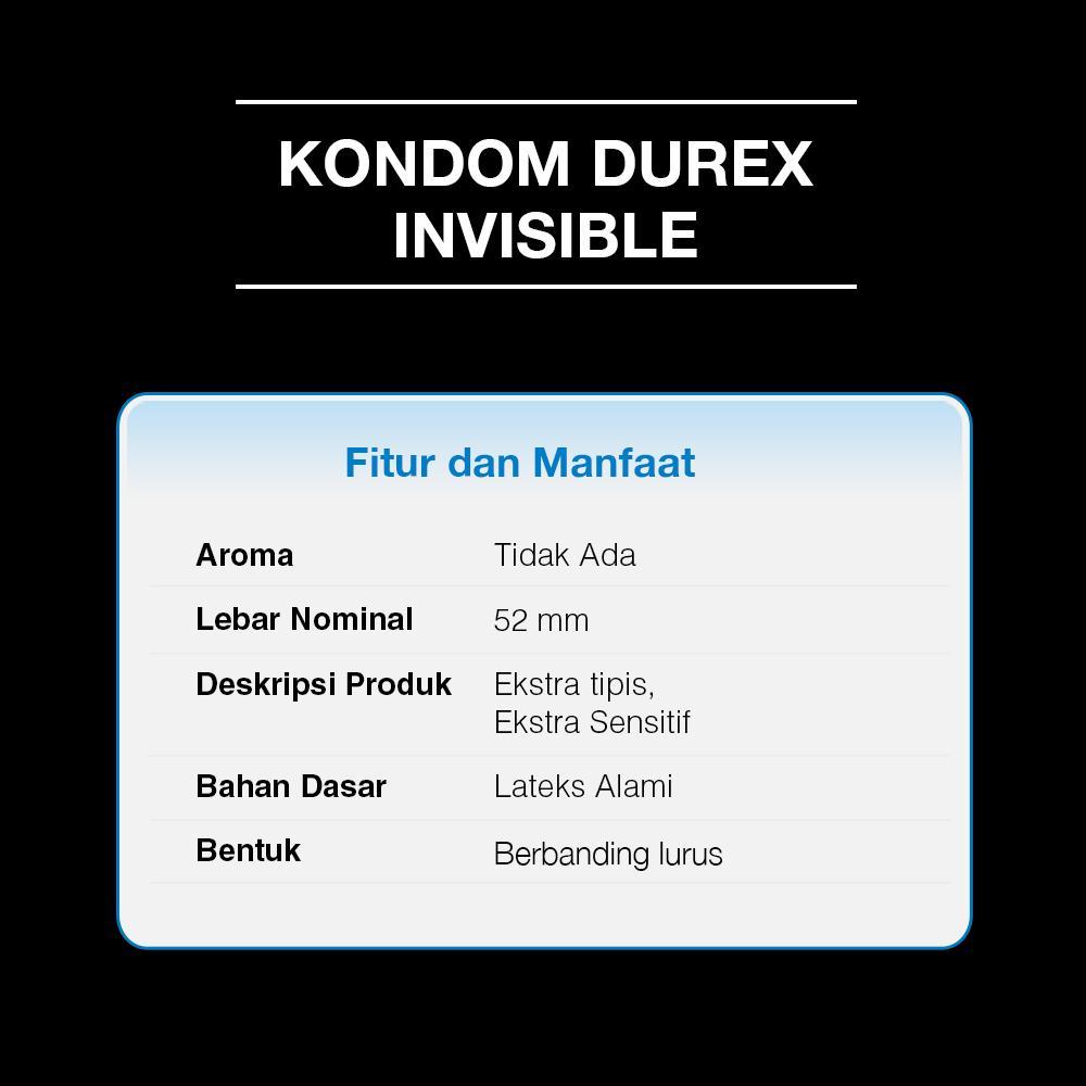 Kondom Durex Invisible Isi 2 Beli Harga Murah Pleasuremax 3 Pcs Condom 2s X Gratis 1 Pria Basic Lazada Indonesia