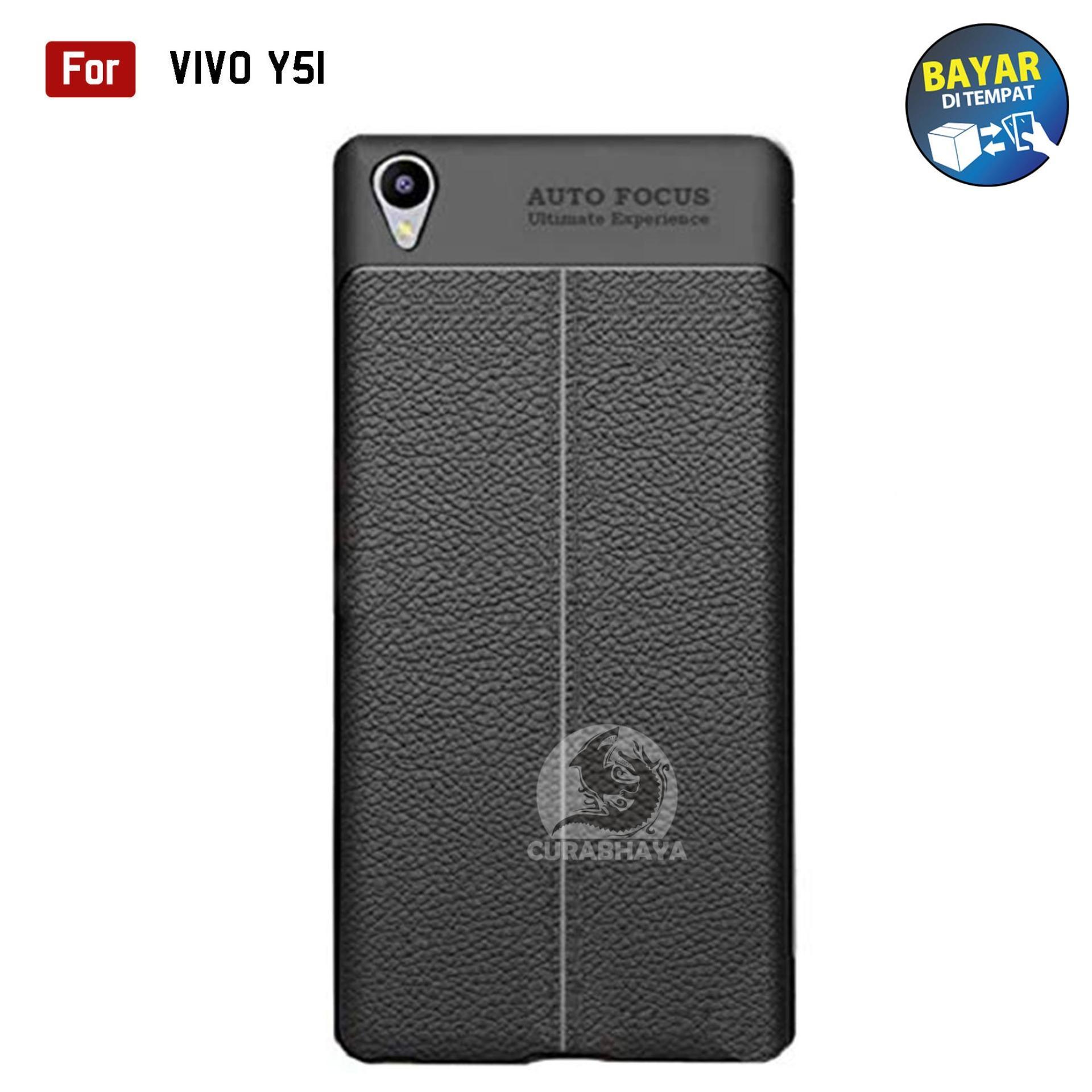 AutoCase Vivo Y51 / Y51L / Y51T | Ultimate AutoFocus Leather 3D Case Protect Motif Kulit Jeruk | Lazada Indonesia