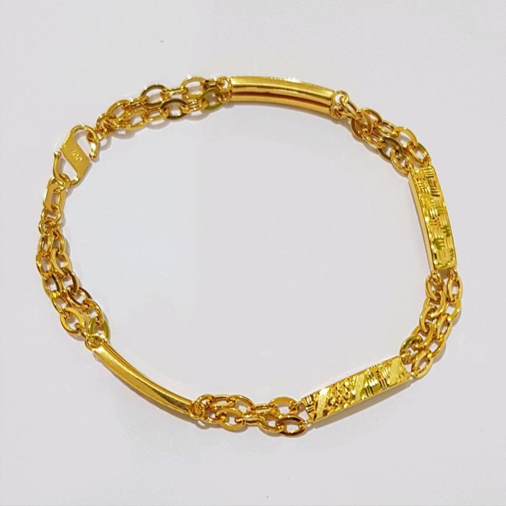Model Gelang Emas Yang Cocok Untuk Tangan Kecil - Pintar ...
