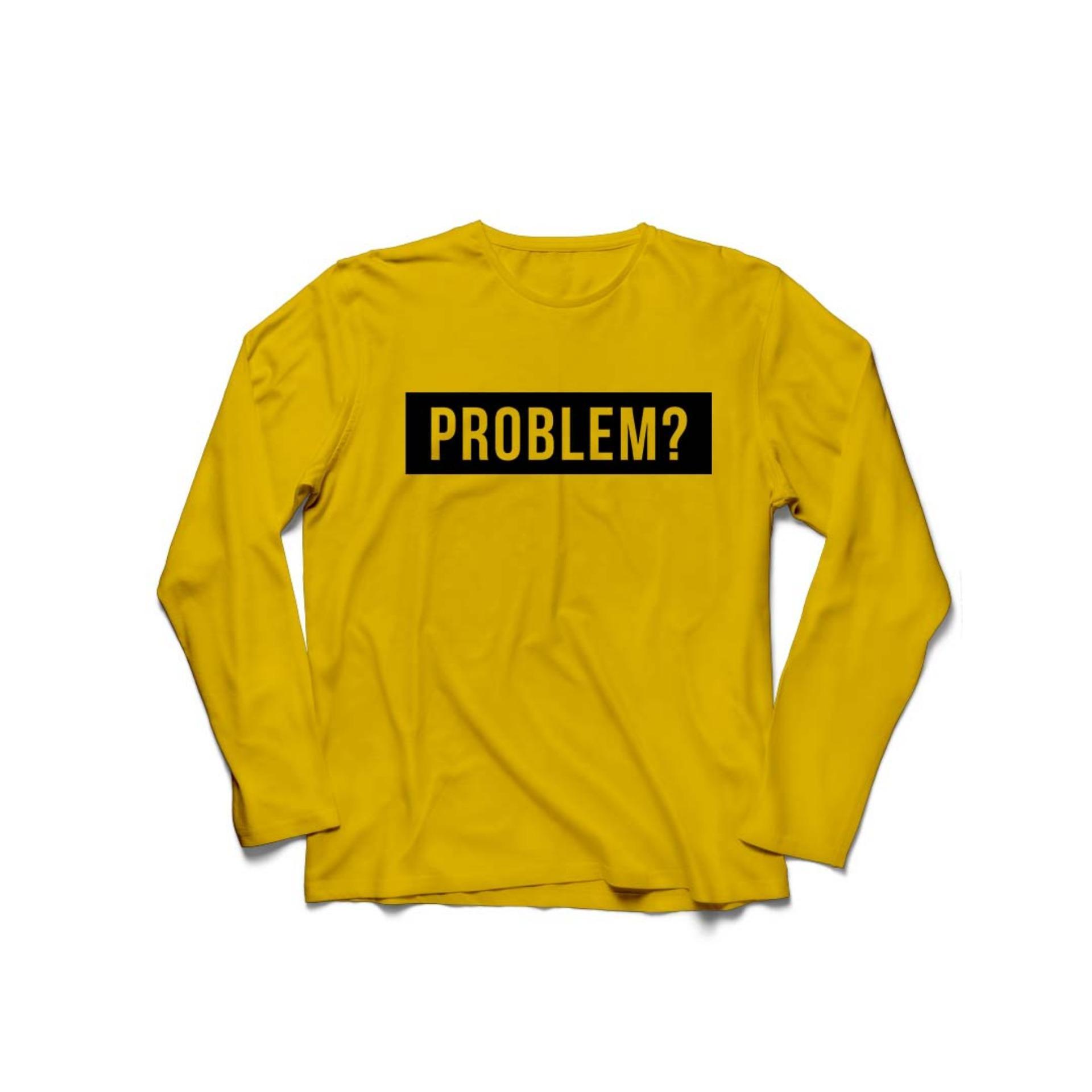 ... Tumblr Tee Cewek / Kaos Wanita / Tshirt Cewe Cotton. Source · -62%. POLARISSHIRT - Baju Kaos T- shirt PROBLEM? Lengan Panjang Longsleeve
