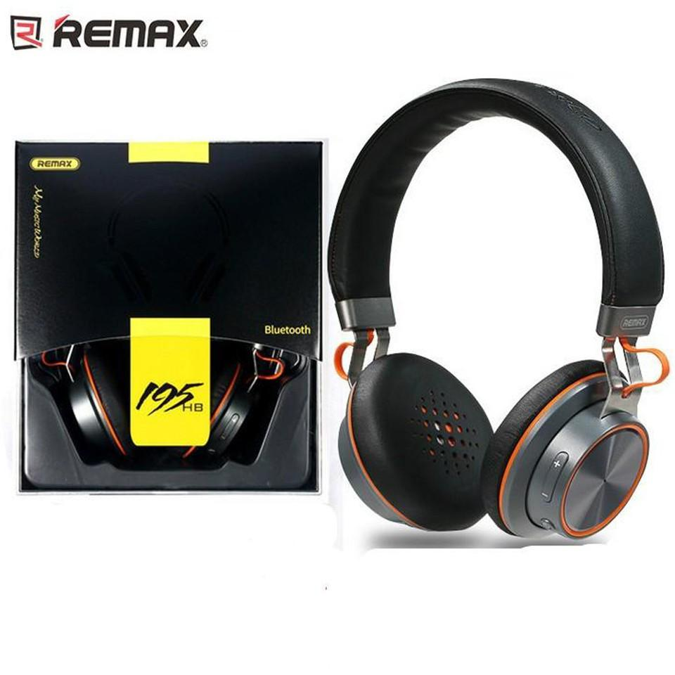 Remax Bluetooh RB-195HB Dj Headphone - Black