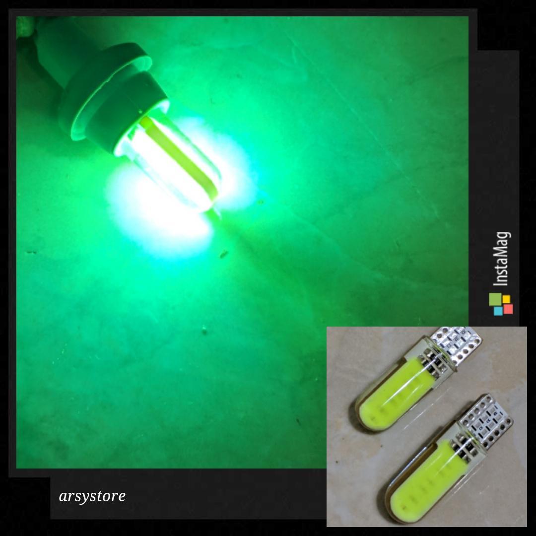 Lampu Led Sein Senja T10 Plasma Cob Daftar Harga Terkini Dan Gel Canbus Enja Dll Grade A 2 Biji Silicon Jelly Metal Soket Plat Nomor Mundur