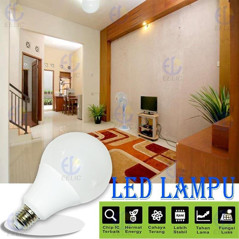 ... EELIC Siplite Cahaya Terang Bohlam Lampu Led Globe 90mm S 12 Watt Putih Lazada Indonesia
