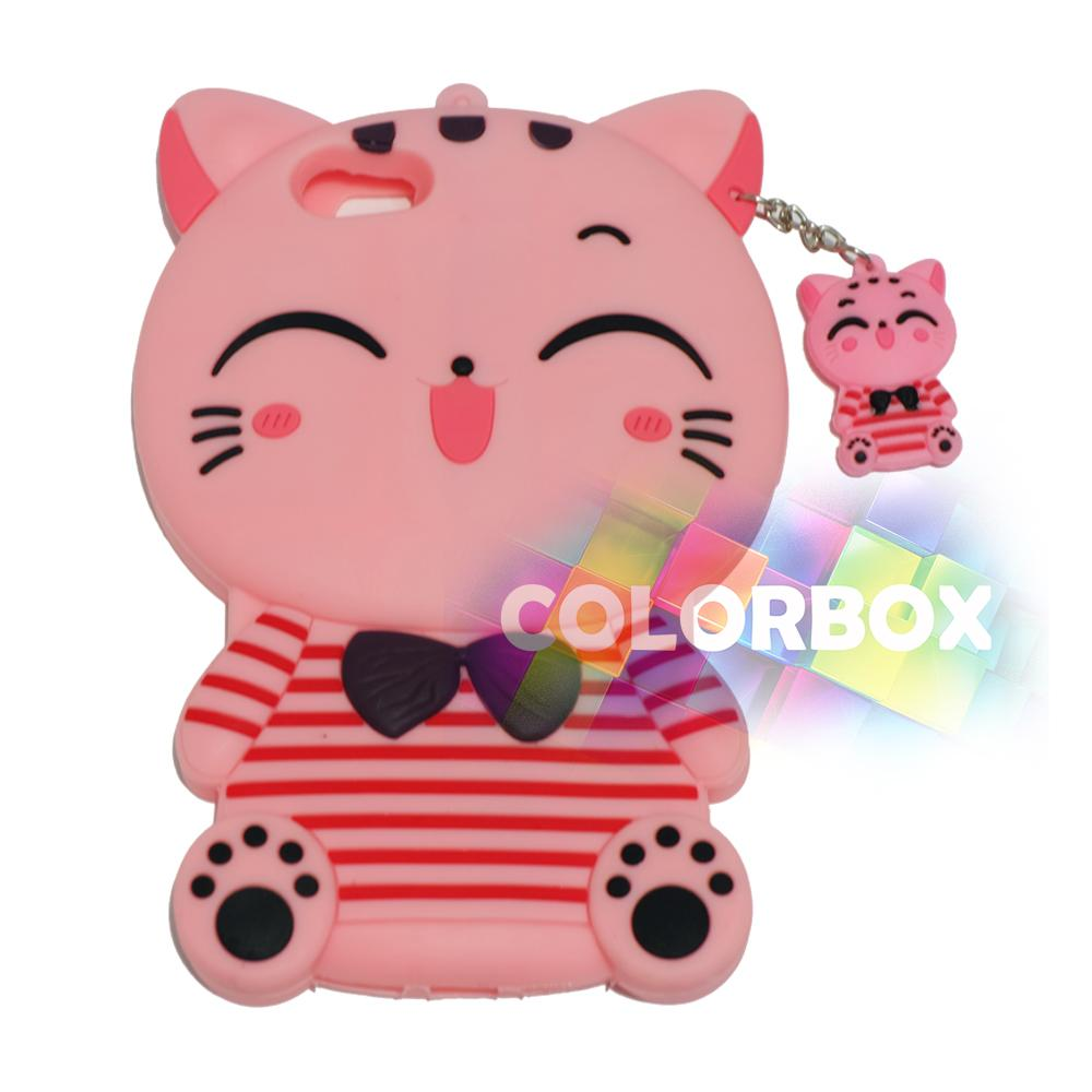 Qcf Silicon Case 3d For Oppo A39 Soft Back Animasi Cony Line Calandiva Shell Tempered Glass F7 623 Inch Merah Mr A71 Pink Cat Red Horizontal Silikon