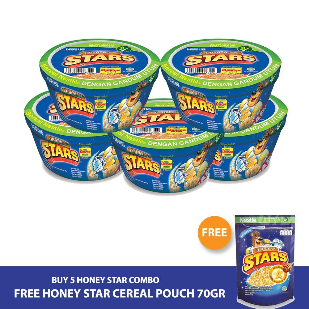 HONEY STAR Combo [5pcs] Gratis HONEY STAR Cereal Pouch 70gr