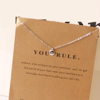 Kalung Wanita S925 manis ayat yang sama sterling silver kalung kecil OT571OTAAR9POOANID-60925994 Taobao