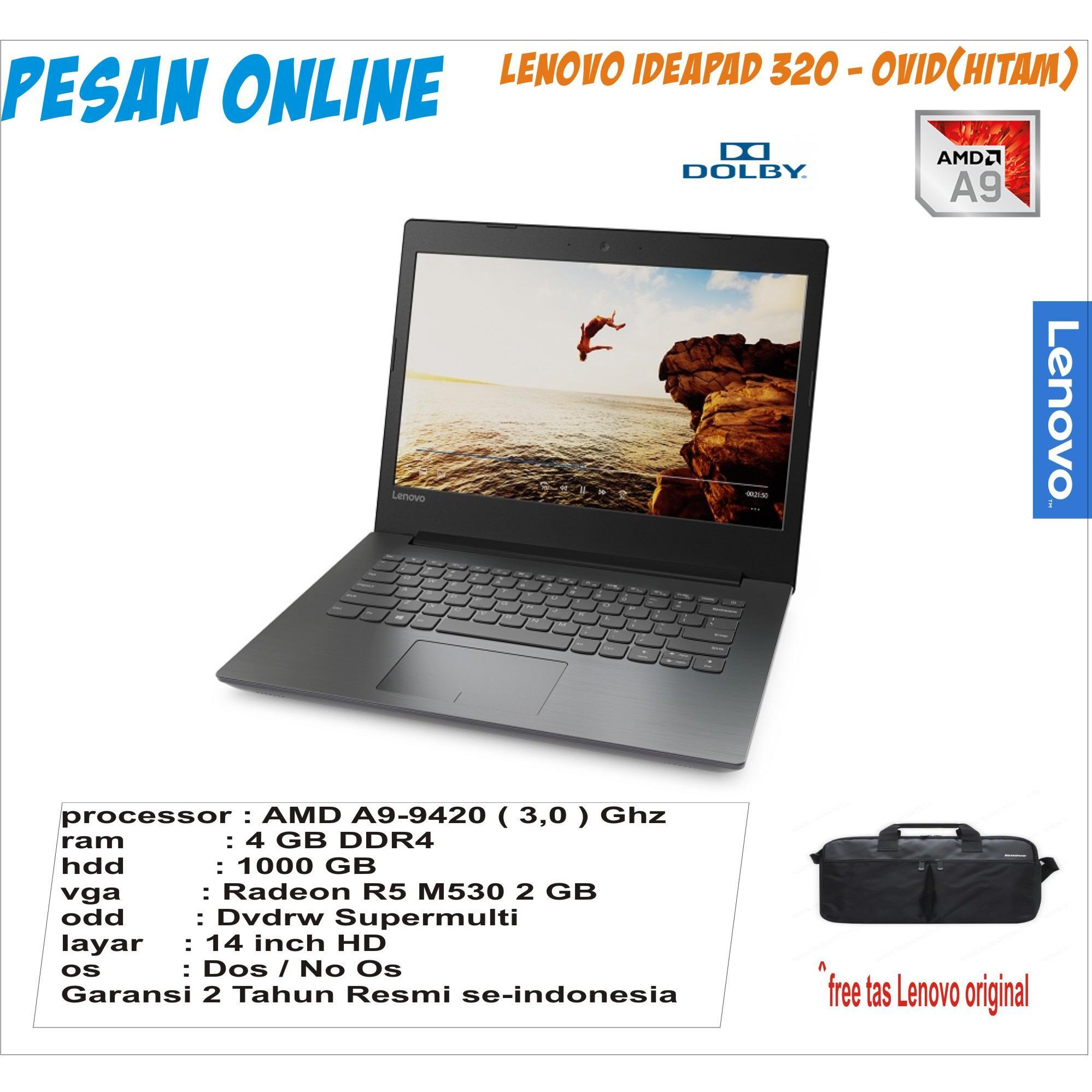 Lenovo Ideapad 100 14ibd 0lid Intel Core I3 5005 2gb 500gb 14 Dos 310s N3350 116 Hitam Ideapad320 0vid 14ast Amd A9 9420 30 Ghz 4