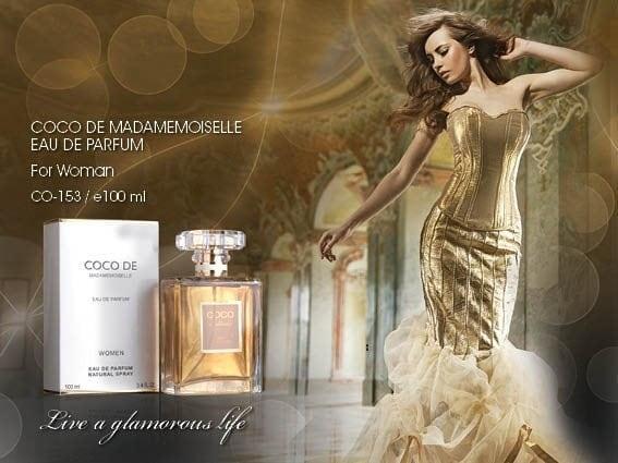 Belia Store Parfum minyak wangi Import murah terlaris Co Co de woman 100ml KW SINGAPORE