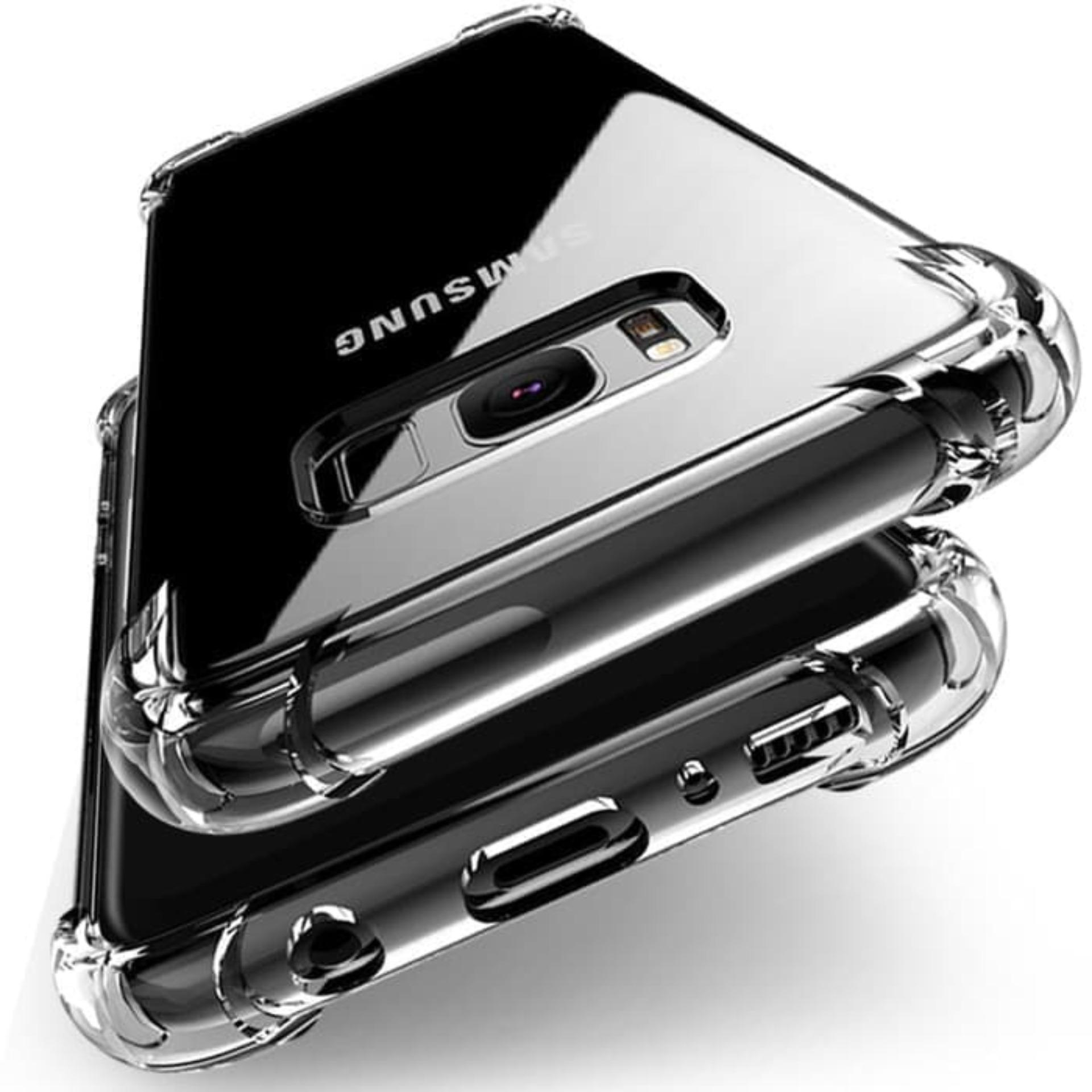 Samsung Galaxy A6 2018 Acrylic Anticrack Mika Case - Belakang Acrilic Keras - Pinggir Silicone Soft