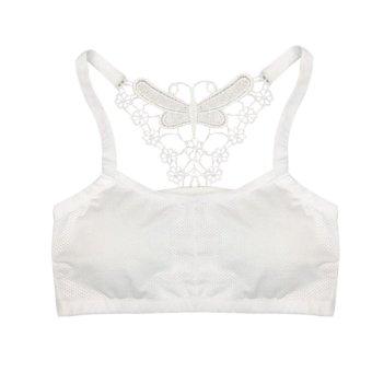 ... Pakaian Dalam Melubangi Celana-Intl. 59.000 · Jiayiqi Wanita Tangki  Padded Rompi Bungkus BH Dada Cotton Kembali Perut Shirt Atasan  Putih-Internasional 7a3610dc70