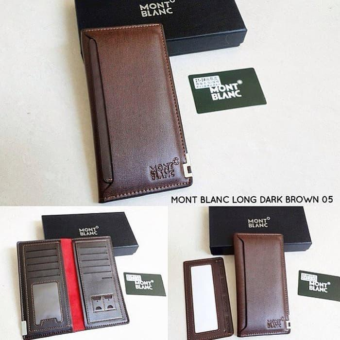 Dompet Kulit Pria Panjang IMPORT Mont Blanc With BOX ( HARGA GROSIR ) - 32e93d82f0