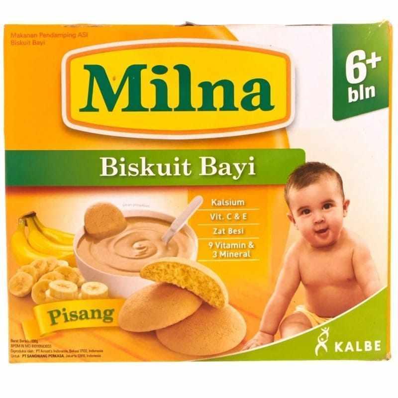 Milna Biskuit Bayi Pisang 130G