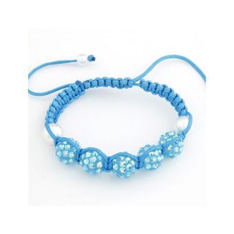 Rgb5140 Aksesoris Gelang Crystal Beads Multilayer elevenia Source · RGB2317 Aksesoris Gelang Ball Diamond