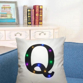 Baru Lampu Warna Bantal Natal Lampu LED Bantal Lukisan Kreatif Linenq-Intl