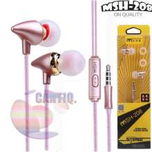 ... MSH Headset Stereo Bass MSH 208 Headset Compatible For Samsung Compatible For Headset Compatible For Oppo