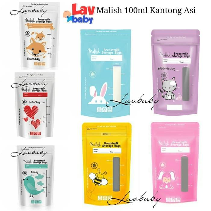 Malish Kantong Asi 100ml breastmilk bags seperti gabag