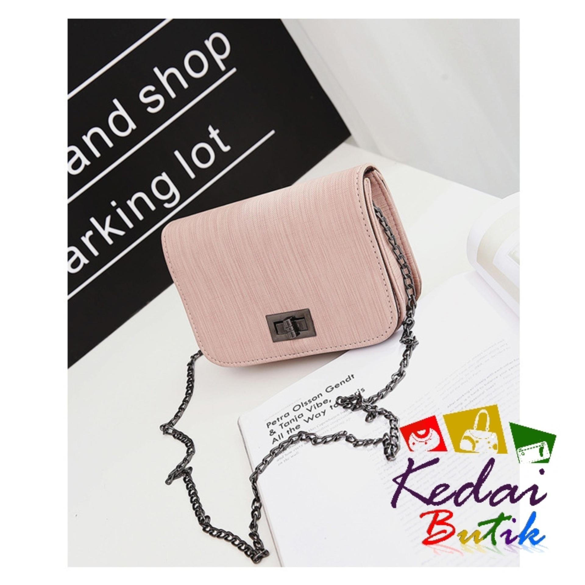 Harga Hand Bag MINISO Wanita Model Terbaru Source · Kedaibutik 007 Tas Korea style Motif Serat
