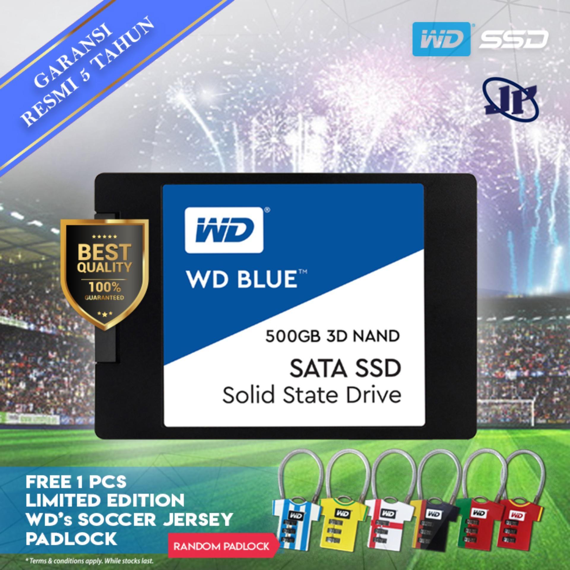 """Western Digital WD Blue 3D Nand SSD 500GB 2 5"""" SATA"""