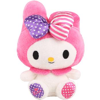 Sanrio mymelody Melody Doll British And American Wind Plush Doll for a Girlfriend Students Children Birthday Gift
