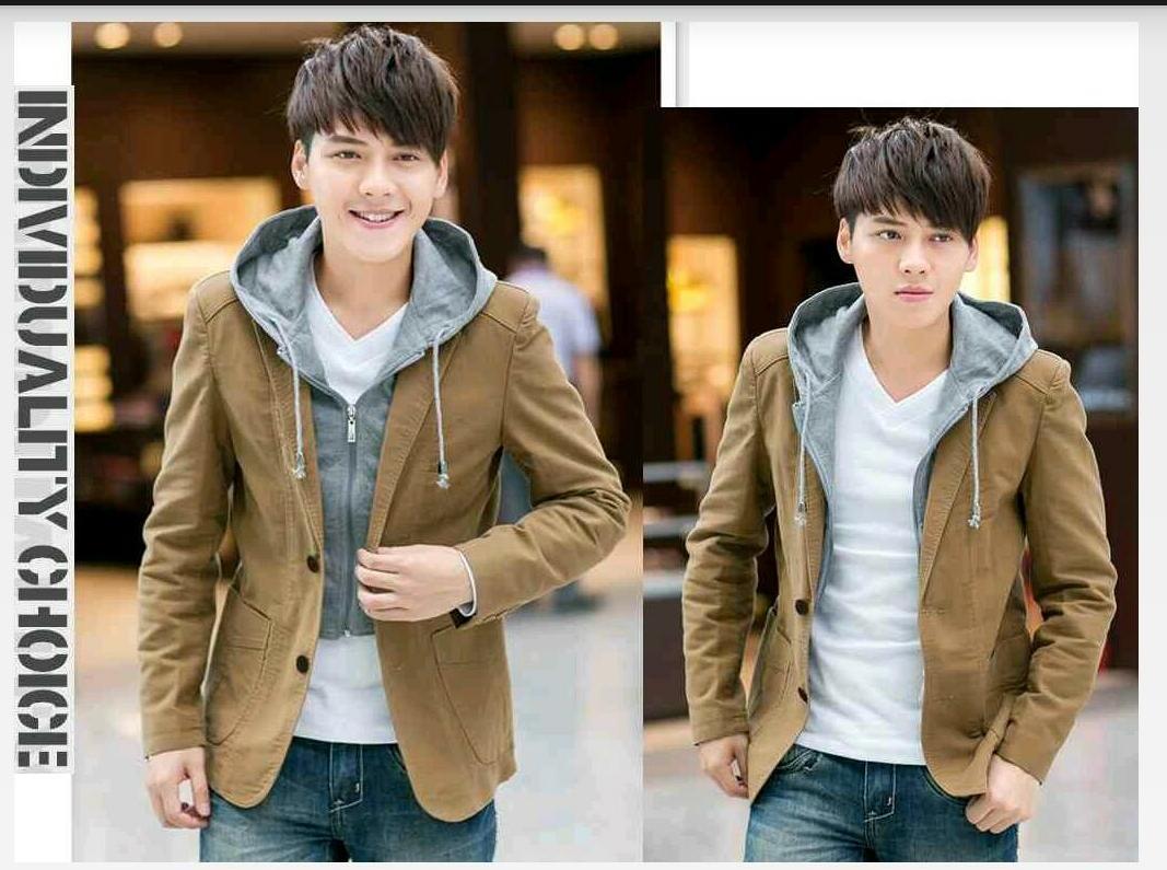 Hc - jaket pria blazer hody zib - jaket pria - blazer pria - pakaian pria 7d643fb979