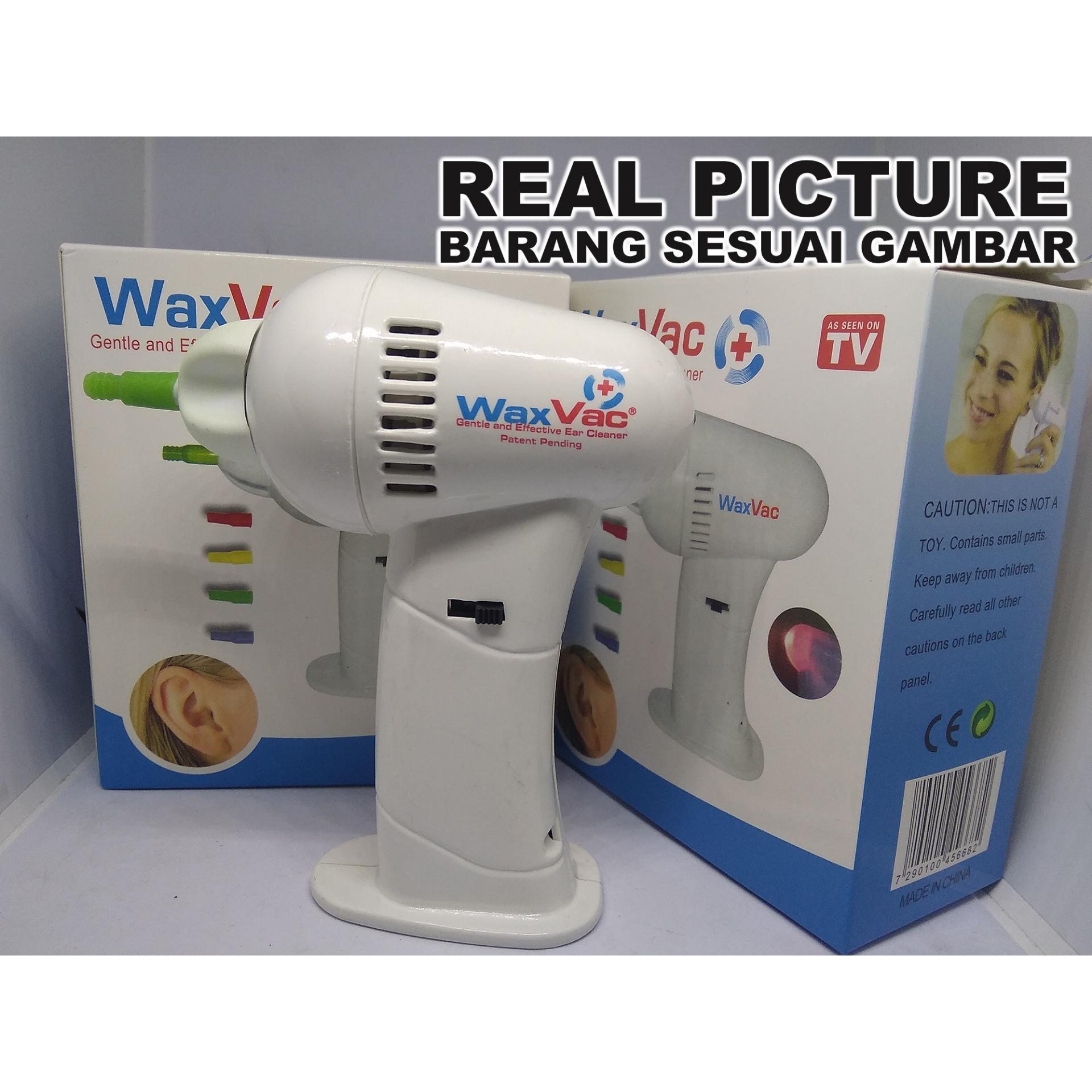 Perlengkapan Medis Wax Vac Daftar Harga Electric Ear Vacuum Removal Alat Pembersih Telinga Whit Waxvac Vacum Elektronik