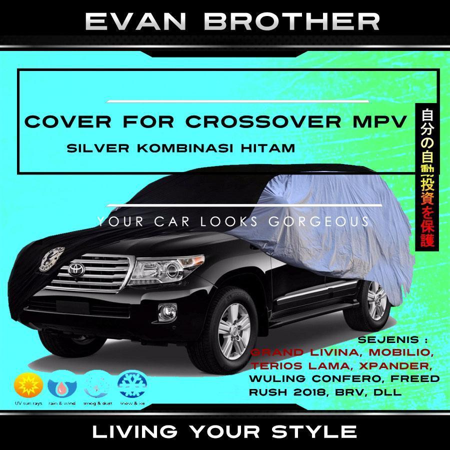 Honda HRV Hitam Abu Type Sporty Source Cover Mobil Mobilio Grand