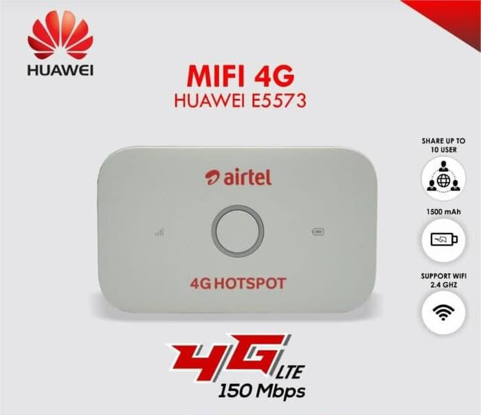 Huawei E5573 Mobile Wifi 4G LTE Unlock All Gsm Operator