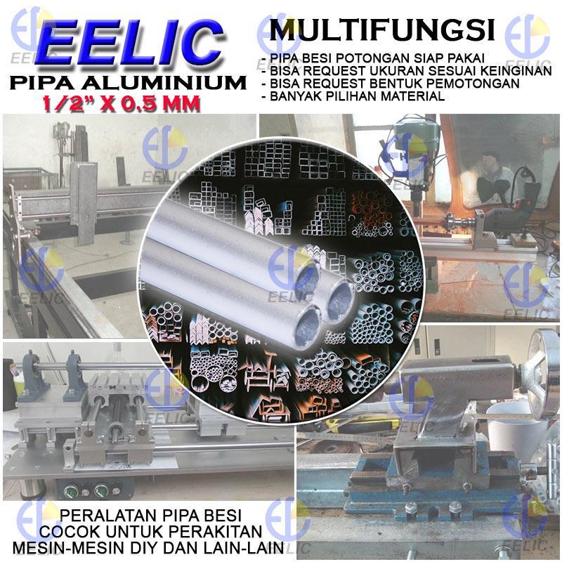 Eelic Pia Alm0 5ix0 5mm Pipa Aluminium Berkualitas Tinggi Pipa Bulat Ukuran 1 2 Inch X 0 5 Mm Panjang 100 Cm Cocok Untuk Mesin Mesin Diy Lazada Indonesia