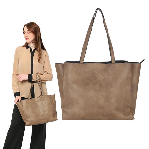 Skytop Tas Pundak Wanita Tote Bag Wanita Bahan Kulit Tas Kantor Wanita  Leather Tote Bag Leather 6b3083d62a