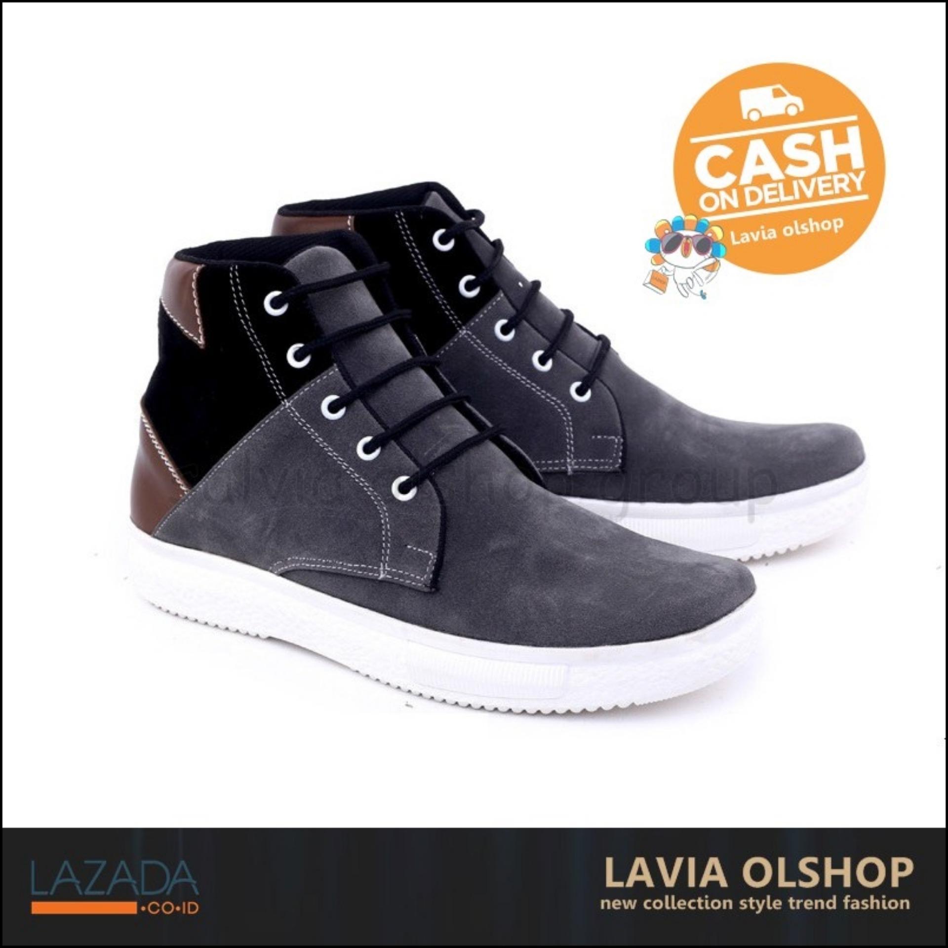 Buy Sell Cheapest Terbaru 2015 Modis Best Quality Product Deals Jaket Motor Tahan Angin Romero Shoes Sepatu Casual Boots Pria Keren Dan Model Gud Abu