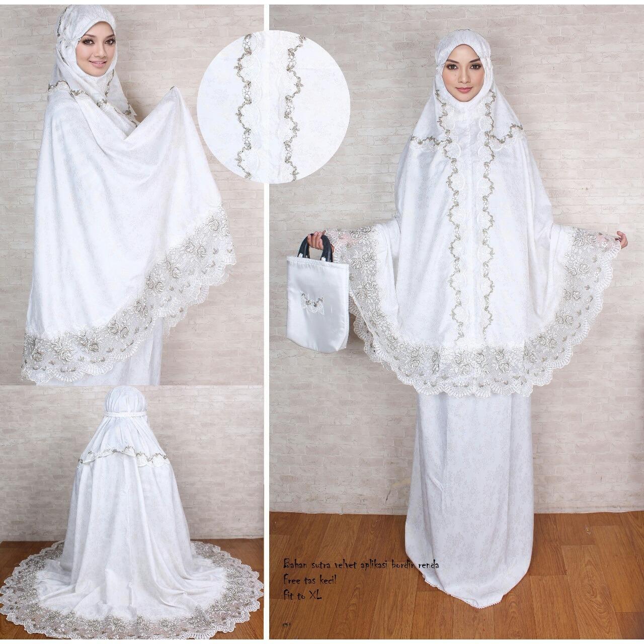 Ukhuwah Mukena Naziha Abu Daftar Harga Terkini Dan Terlengkap Bordir Homemade Hafsyah Putih Premierfashionstore Batik Kudus Rojali Aryantin