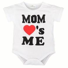 Promo 12 Bulan Bayi Baru Lahir Bayi Boy G*Rl Pakaian Jumpsuit Infantil Body Bodysuit One Piece Cinta Ibu Saya Intl Oem Terbaru