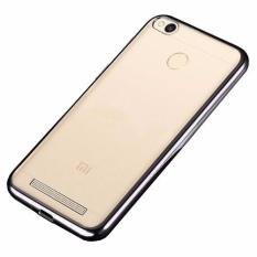 Softcase Silicon Jelly Case List Shining Chrome for Xiaomi Redmi 3 Pro - Hitam