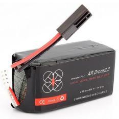 Battery Li Po For Parrot Ar Drone 2 11 1V 2500Mah 20C Black Oem Diskon 50