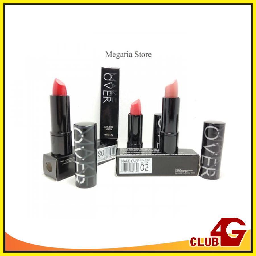 Make Over Ultra Shine Lipstick - Produk  Lip Color & Lip Care Lipstik dan Pensil Bibir, Membuat Bibir Indah dan Sehat | 60061
