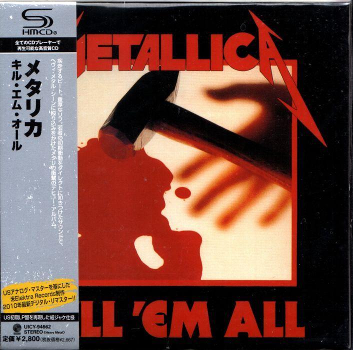 Cd Metallica - Kill Em All By Womdisc.