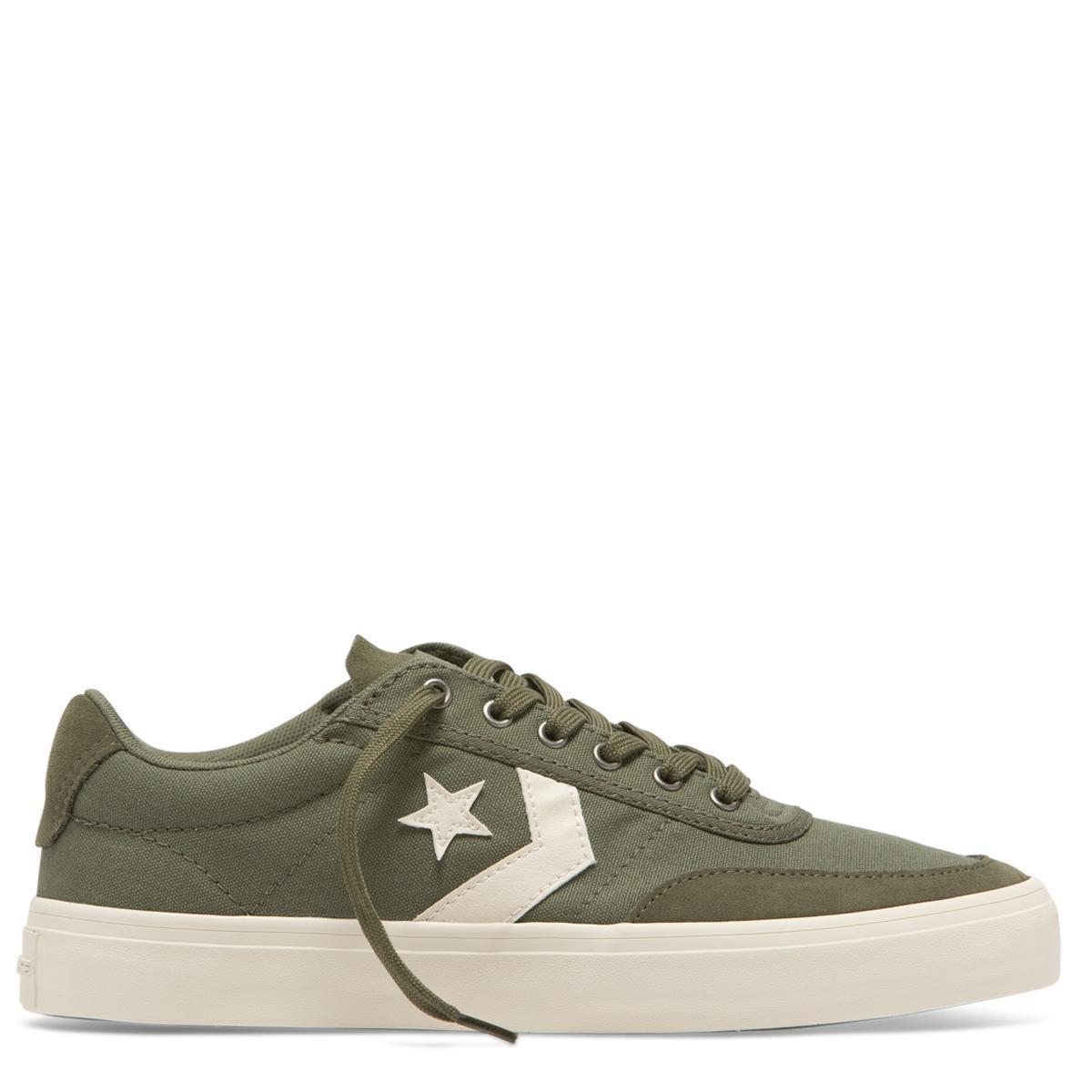 Converse Courtlandt Chino Low Top Sepatu Pria - Hijau Tua 72c985fd00