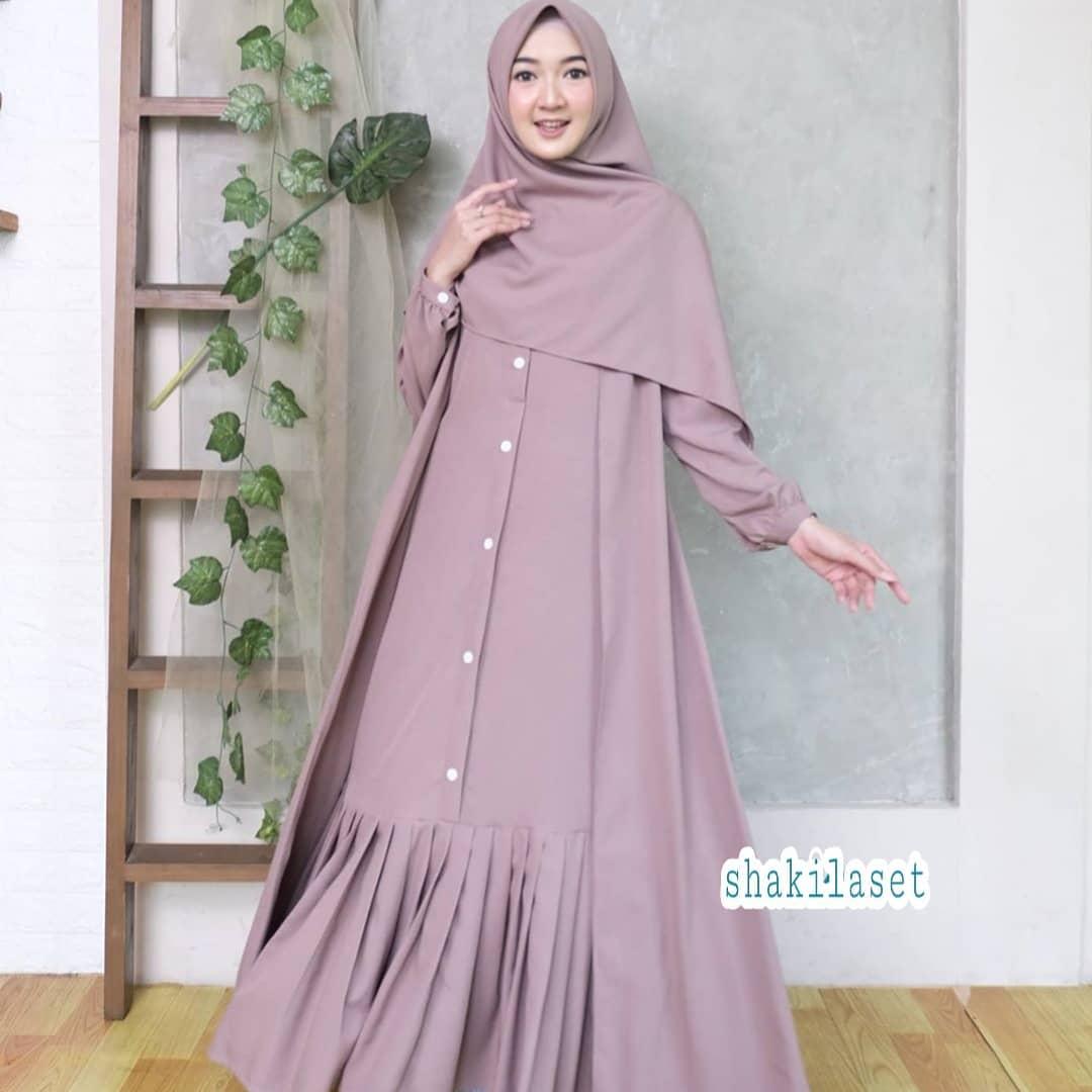 Ootd Hijab Style Remaja Model Baju Gamis Lebaran 2020 Baju Muslim Shakila Set Hijab Gamisterbaru 2020 Modern Baju Gamis Wanita Terbaru 2020 Gaun Pesta Long Dress Muslimah Busana Muslim Wanita