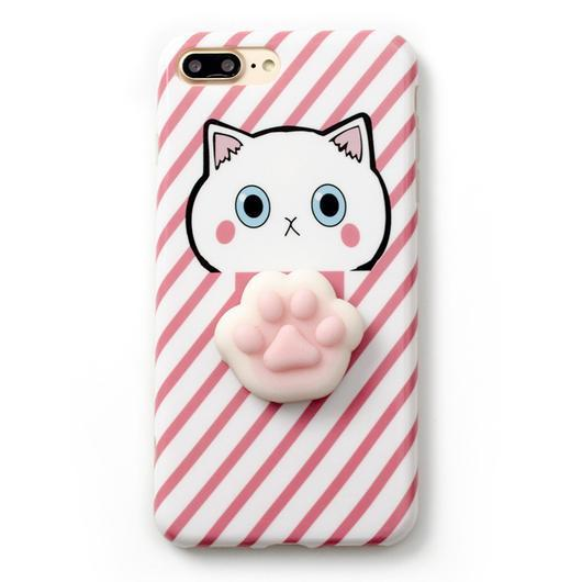 Case Squishy Cat Claw for iPhone 6 or 6s ORI Iphone 6 Plus or 6S Plus Pink SCR8PN - 04