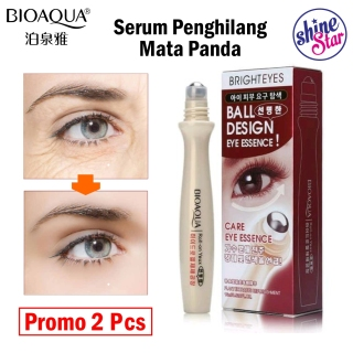 SHINE STAR - PROMO 2 PCS Bioaqua Masker Mata - Bioaqua Roll On Nourishing Eye Moisturizing ORIGINAL - Bioaqua Bright Eyes Anti Mata Panda Setara Bioaqua Golden Eye - 1 Pcs thumbnail