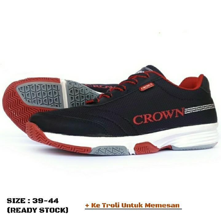 Original CROWN2-BM1-Sepatu Sneakers Pria   Sepatu Sporty Ownstyle - 4 IN  Colors 7f72c50378