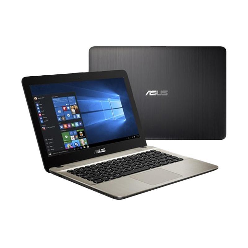 Asus X441UB-GA311T Notebook - Black [i3-7020U/NVidia GeForce MX110/4GB/1TB/14