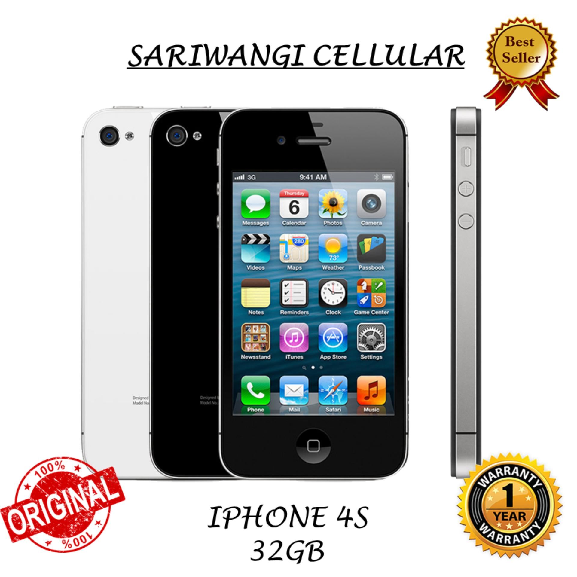 iPhone 4S 32GB Original Bergaransi