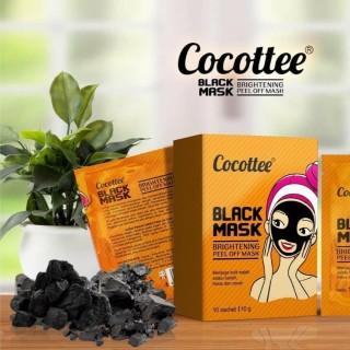 MASKER COCOTTE BLACK MASK KOMEDO COCOTTEE BLACK MUD FACE MASK BPOM ORIGINAL - K.A.B thumbnail