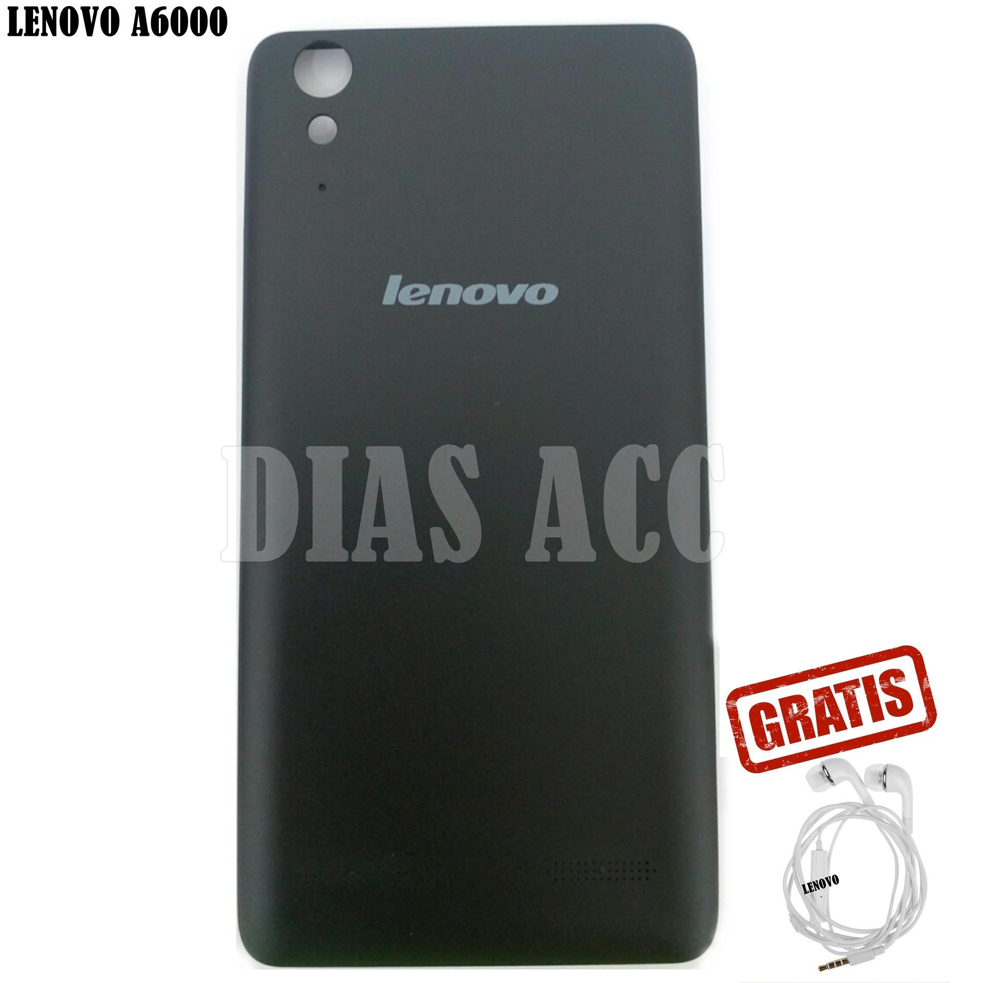 Backdoor / Tutup Belakang Lenovo A6000 Best seller + GRATIS Handsfree Lenovo Series