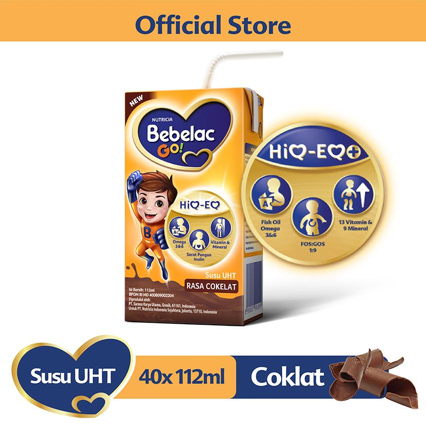 Bebelac Go! Susu Uht Rasa Coklat 112ml - Karton Isi 40 Pcs By Lazada Retail Bebelac