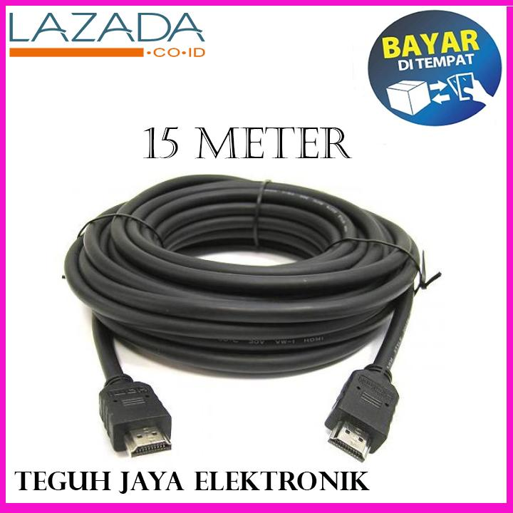 JE KABEL HDMI To HDMI High Speed High Quality Gold 15 METER