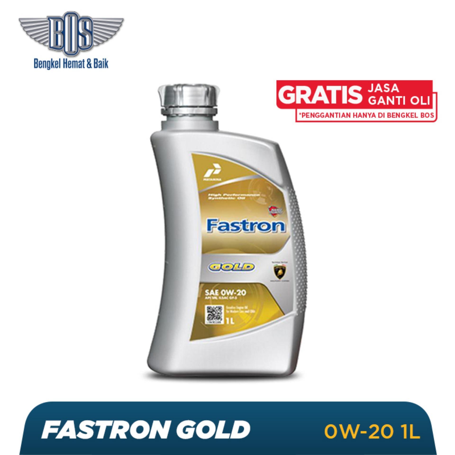 Oli Mobil Fastron Gold  - 0W-20 - LITER -  Gratis Jasa Ganti Oli dan Check Up Kendaraan