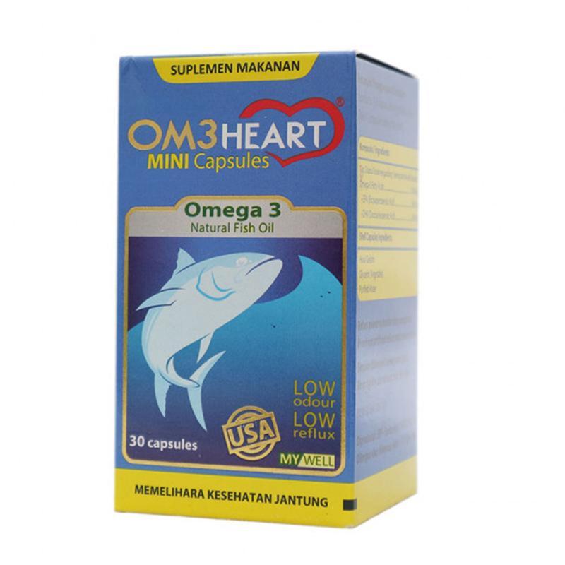 Om3heart Kapsul Omega 3 - Omeheart 30 Capsules