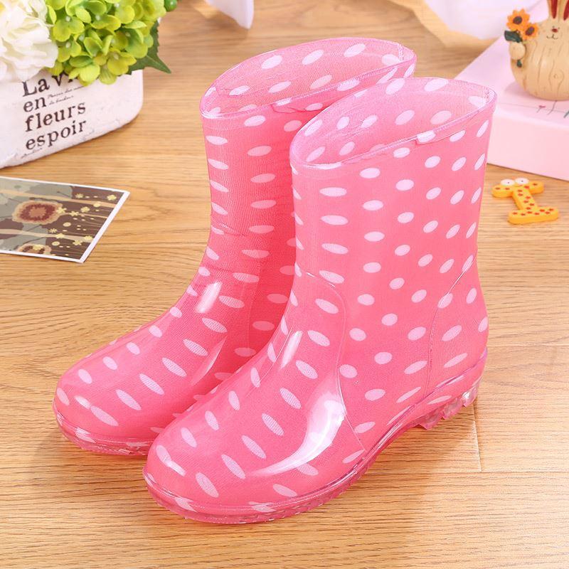 Indah Schick Sepatu Karet Perempuan Remaja Perempuan Musim Panas Model Empat Musim Model Wanita Sepatu Boots Hujan Sepatu Karet Pendek Sepatu Bot Hujan Pemuda Sepatu Anti Air By Koleksi Taobao